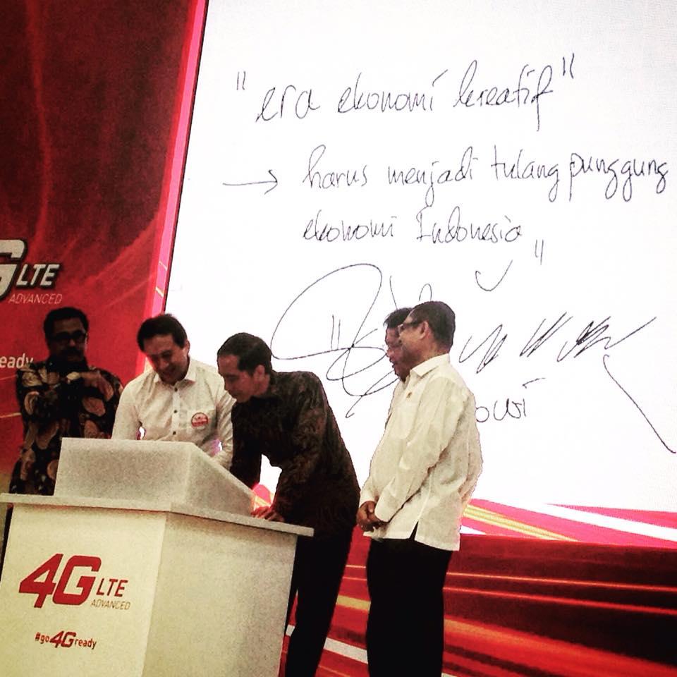 2015-08-04 Dialog Komunitas Kreatif dengan Presiden RI