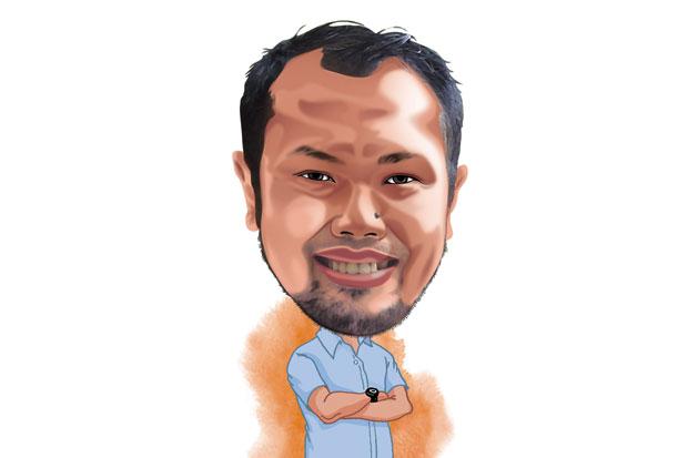 Sigit Kusumawijaya - Cartoon Koran Sindo - Bergerak Ciptakan Lahan Hijau